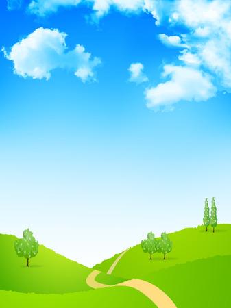 landscape road: Sky landscape background