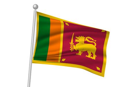 lanka: Sri lanka flag flag