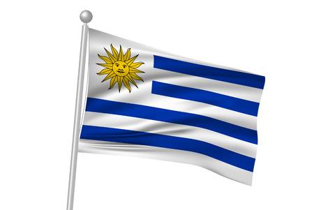 bandera uruguay: Bandera bandera de Uruguay