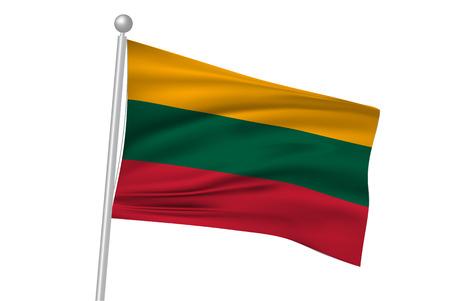 lithuania: Lithuania flag flag