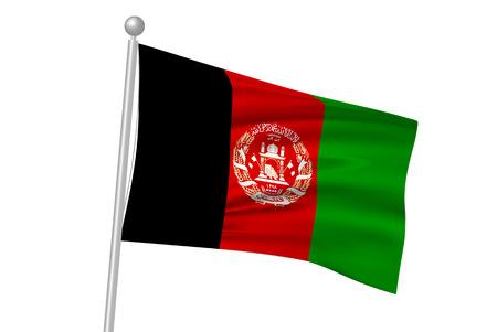 flag: Afghanistan flag flag
