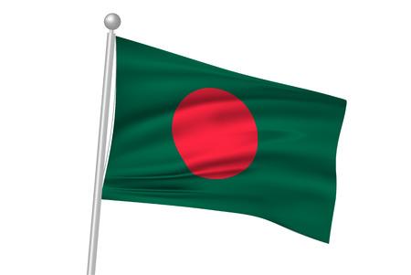 flag: Bangladesh national flag flag