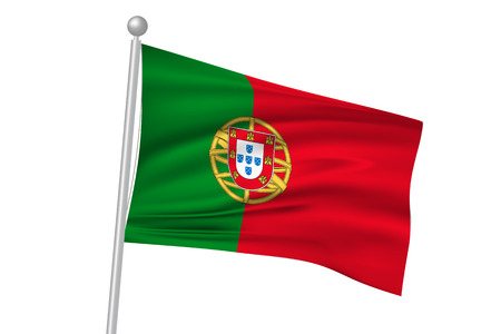 flag: Portugal national flag flag Illustration