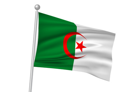 flag: Algeria flag flag