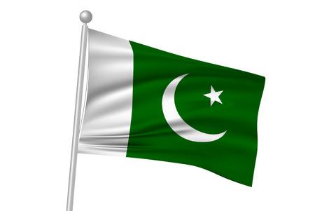 flag: Pakistan national flag flag