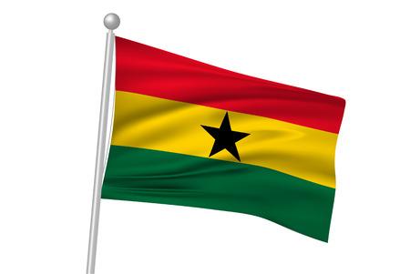 ghana: Ghana drapeau drapeau national