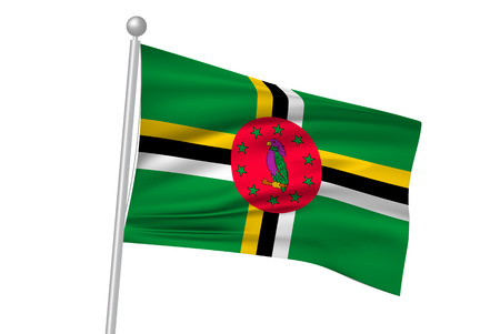 dominica: Dominica national flag flag