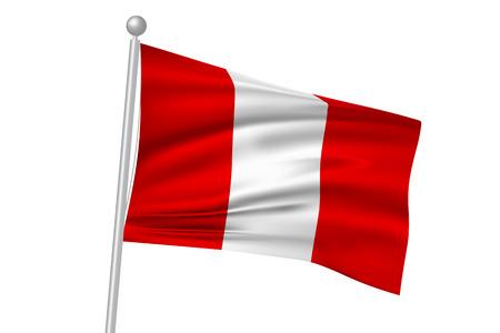 Peru flag flag