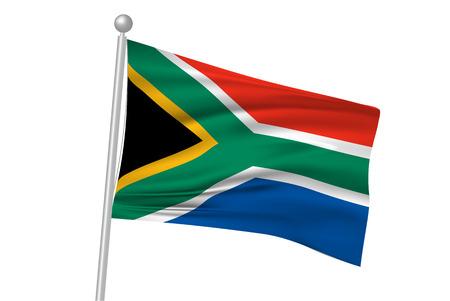 flag: South Africa flag flag