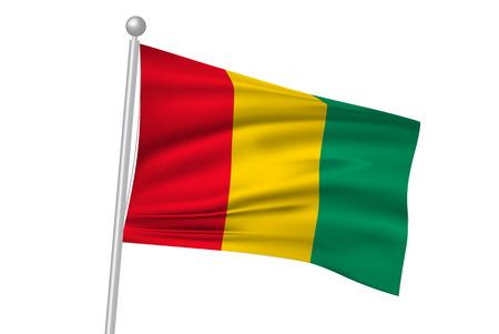 guinea: Guinea flag flag