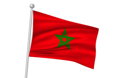 Morocco flag flag