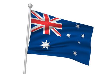 australia flag: Australia flag flag