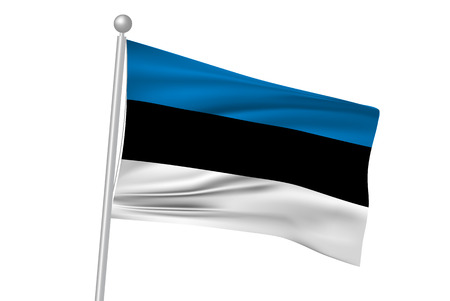 estonia: Estonia flag flag
