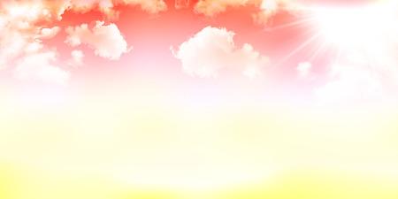 Autumn sky background
