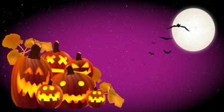 october 31: Halloween pumpkin background