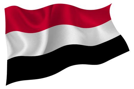 yemen: Yemen Flag icon Illustration