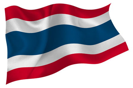 seta thailandese: Thailandia Flag icon