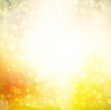 Autumn light background Illustration