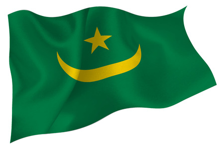 Mauritania National flag Flag