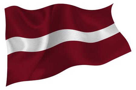 flag: Latvia National flag Flag