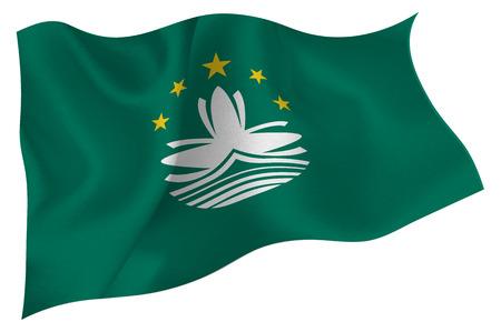 macau: Macau National flag Flag Illustration