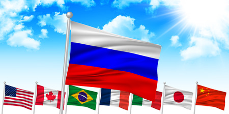 russia flag: Russia flag background