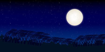 harvest moon: Jugoya pampas grass background