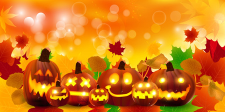 Halloween pumpkin maple