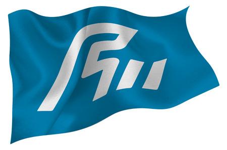 ishikawa: Ishikawa Flag icon Illustration