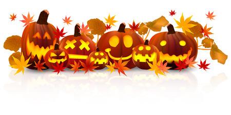 Halloween-Kürbis Ahorn Standard-Bild - 42710726