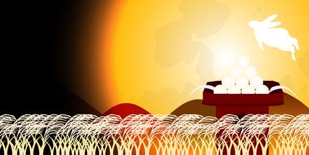 harvest moon: Jugoya rabbit background Illustration