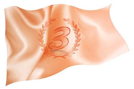 copper: Copper flag icon Illustration