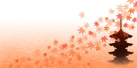 kyoto: Maple autumn leaves Kyoto