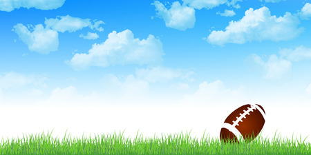 pelota rugby: Rugby sky background
