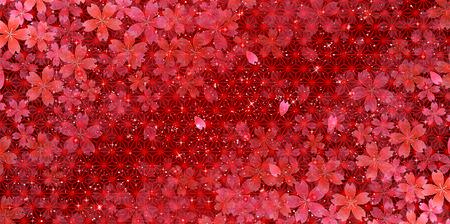 cereza: Los cerezos en flor de fondo Vectores