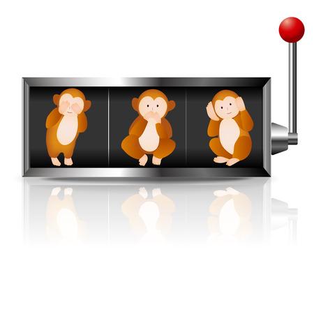 원숭이 슬롯 인사 장