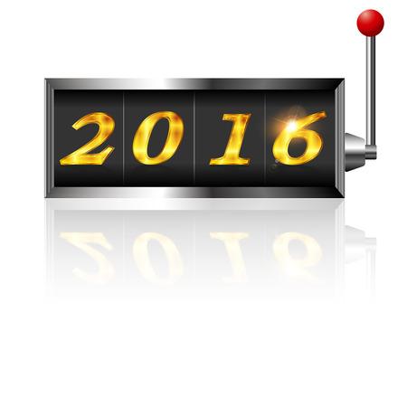 slot: 2016 New Years card slot