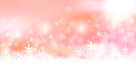 Sneeuw Kerst achtergrond
