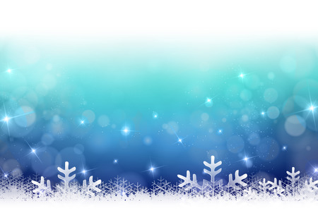 Snow Christmas background 版權商用圖片 - 43826537