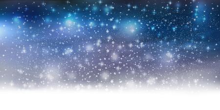雪光の背景