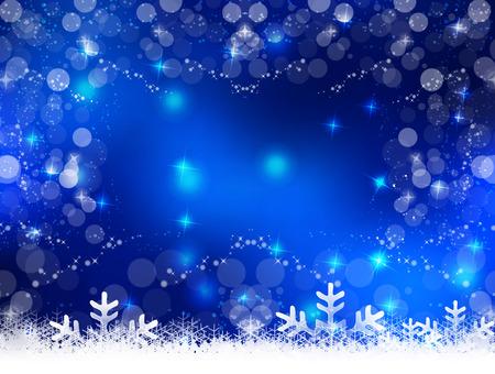Snow light Christmas