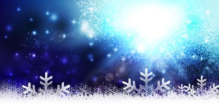 christmas snow: Snow light Christmas