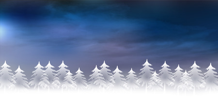 Snow Christmas background 版權商用圖片 - 44433882