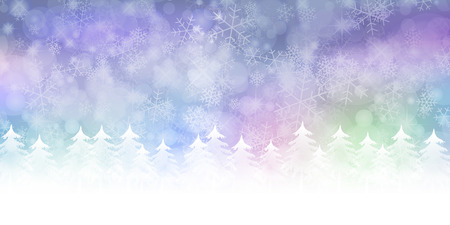 christmas background: Snow Christmas background Illustration