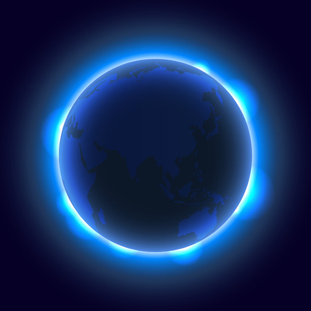 star sky: Earth and Space background