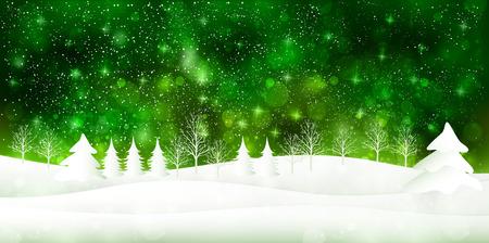 Sneeuw lichte achtergrond