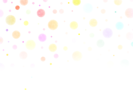 Polka dot colorful New Year's card  イラスト・ベクター素材