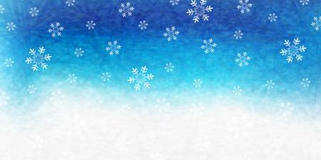 christmas snow: Snow Christmas background Illustration