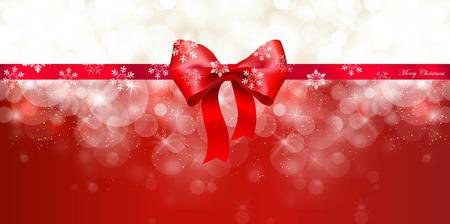 Snow Christmas ribbon 版權商用圖片 - 45199324