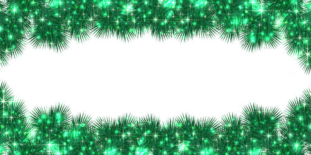 christmas background: Christmas fir tree background